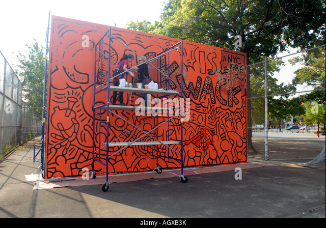 harlem mural stockfotos harlem mural bilder seite 2 alamy. Black Bedroom Furniture Sets. Home Design Ideas