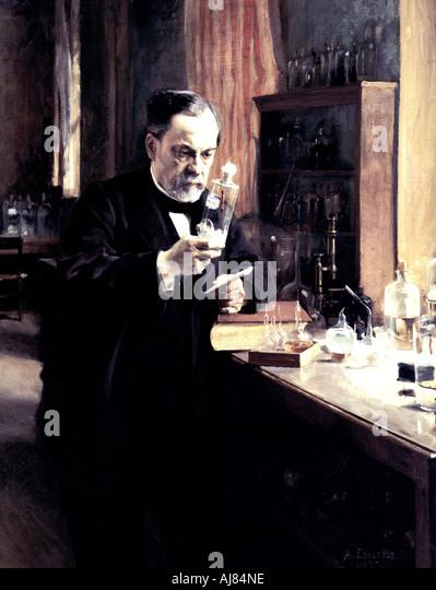 Louis Pasteur 1885 Stockbild