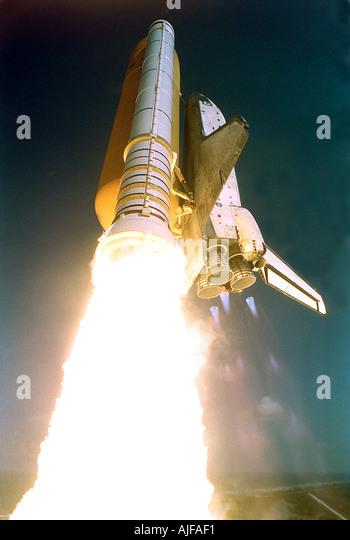 Space Shuttle Start Stockbild