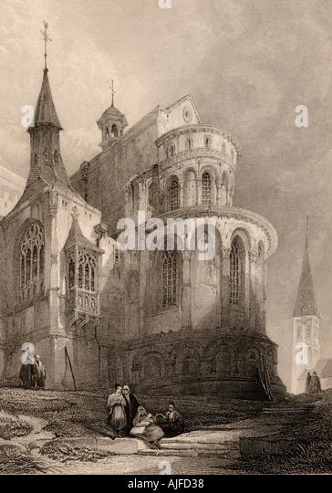 Kirche St. Maria Köln Deutschland Stockbild