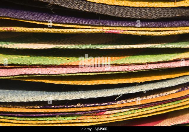 Tischsets, Afrika-Karibik-Festival Stockbild