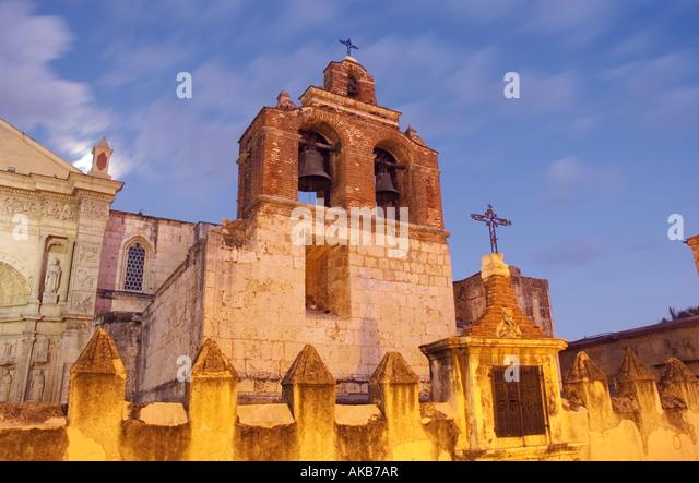 Kathedrale, Santo Domingo, Dominikanische Republik Stockbild