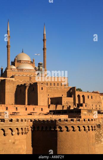 Ägypten, Kairo, in der Innenstadt, die Zitadelle Stockbild