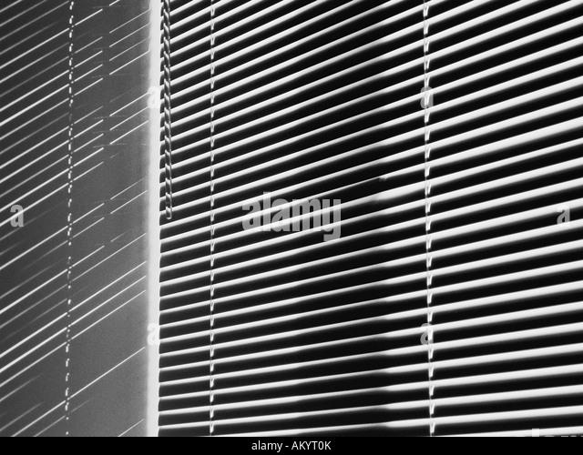 Horizontal-Jalousien Stockbild
