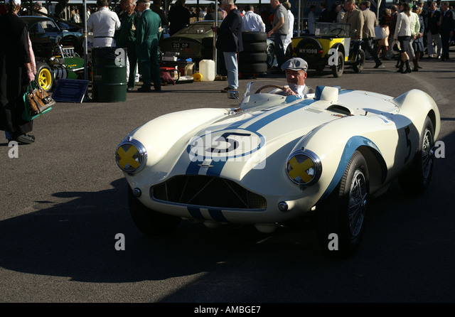 Aston Martin DB3S Stockbild