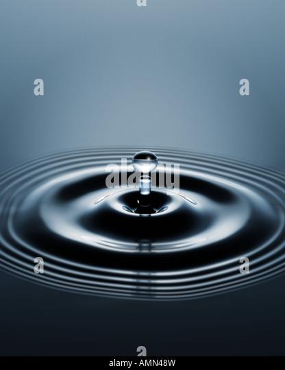 Eine Welle des Wassers Stockbild