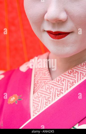 Geisha, Maruyama Koen, Kyoto, Japan Stockbild