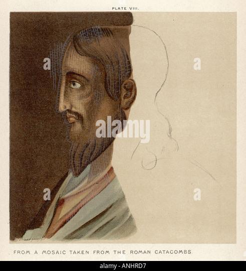 Jesus 6 v. Chr. 30 n. Chr. Stockbild