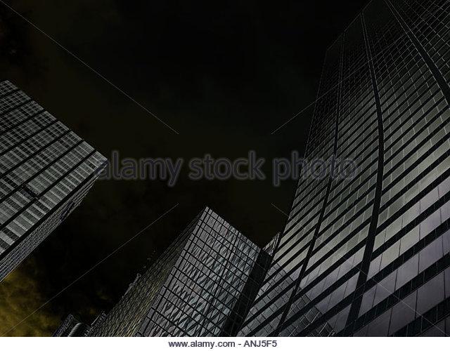 Hochhäuser in New York Stockbild
