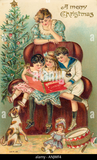 Genießen Sie Geschenke Stockbild