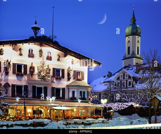DE - Bayern: Garmisch-Partenkirchen Stockbild
