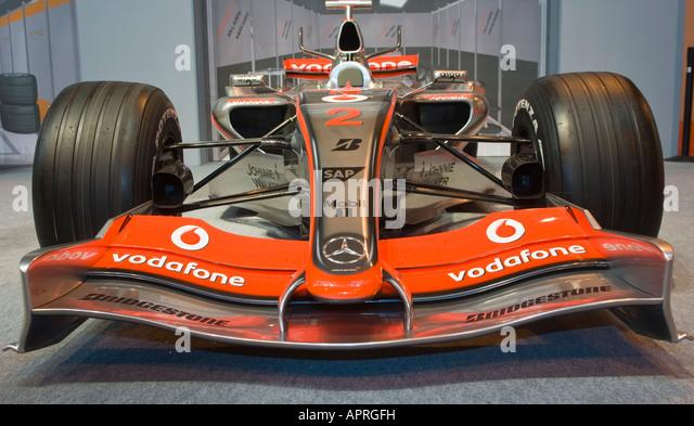 Lewis Hamilton Formel ein Auto bei Autosport The Racing Car Show Birmingham 2008 Stockbild