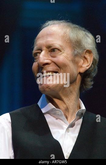 Oscar-prämierten britischen Filmkomponisten John Barry in Konzert in der Royal Albert Hall London 28. September Stockbild