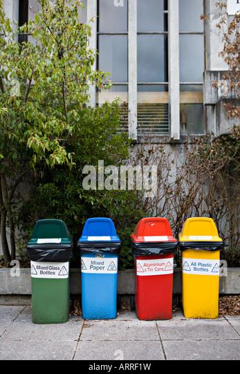 Stadtlandschaft, Massey Universität, Manawatu, Neuseeland Stockbild