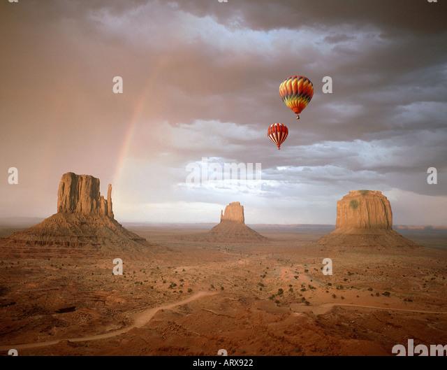 USA - ARIZONA: Monument Valley Navajo Tribal Park Stockbild