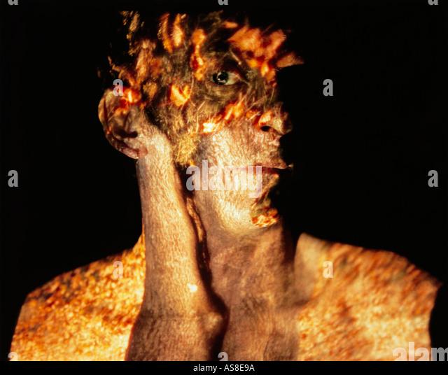 Ollie Autumn Heat Stockbild