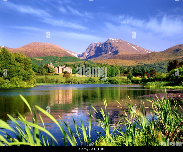 GB - Schottland: Inverlochy Castle & Ben Nevis Stockbild