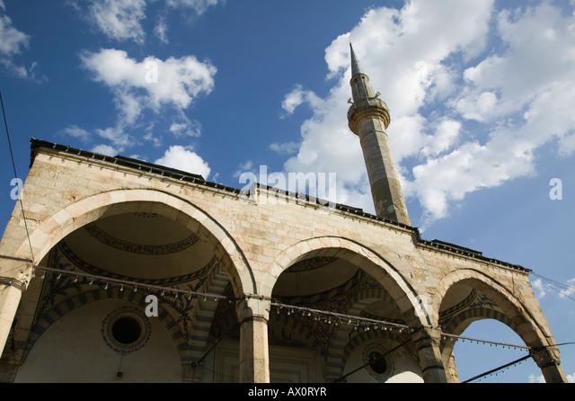 Serbien, Kosovo, Pri?tina, äußere Jashar Pascha Moschee Stockbild
