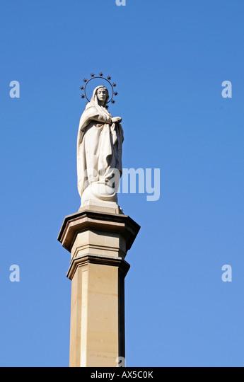 Jungfrau Maria Statue Avignon, Frankreich Stockfoto