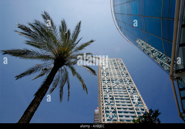 ESP Spanien Barcelona Barceloneta Barcelona Hotel des Arts Stockbild