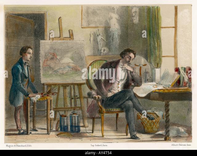 Samuel Morse Stockbild