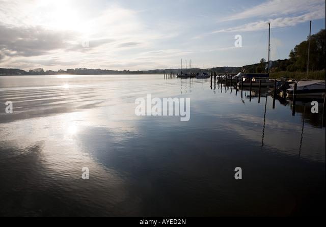 Malerischen Hafen Stockbild