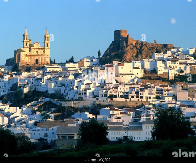 ES - Andalusien: Olvera Stockbild