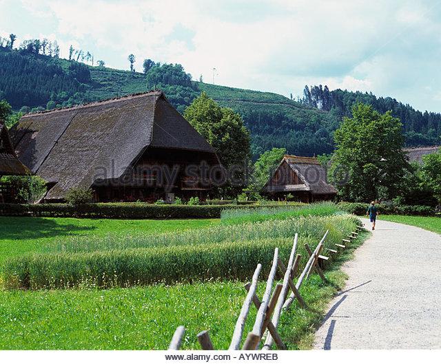 Freilichtmuseum Vogtsbauernhof, Gutacher Renovierungen, Gutach (Schwarzwaldbahn), Schwarzwald, Baden-Württemberg Stockbild