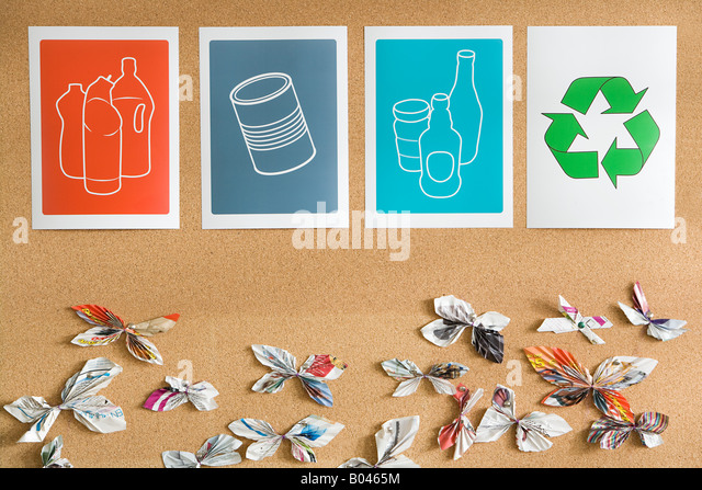 Recycling-Illustrationen Stockbild