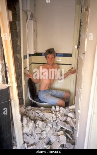 Handyman Stockbild