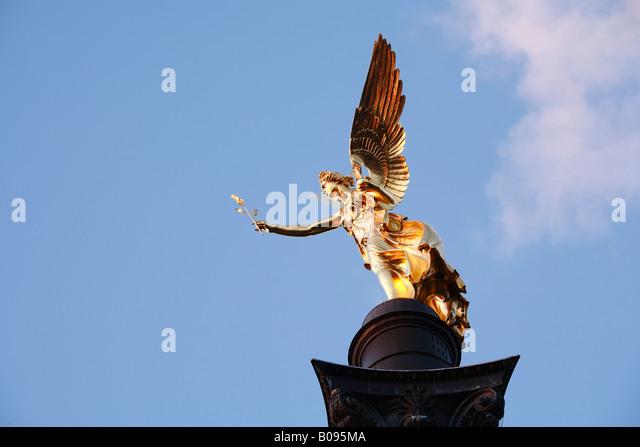 Friedensengel (Freiheit Angel), München, Bayern, Deutschland Stockbild