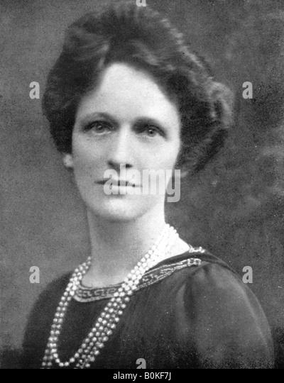 Lady Astor (1879 ? 1964), US-amerikanischer britischer Politiker, 1926. Stockbild