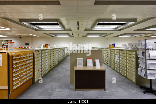 Des National Archives in Kew, London Stockbild