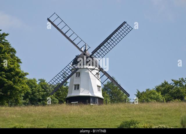 Turville Mühle Buckinghamshire UK Stockbild