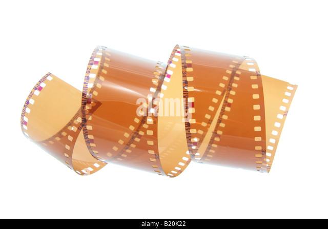Leer-negativ-Film Stockbild