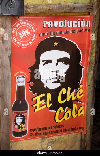 Che Guevara Poster Segou Mali Datum 04 04 2008 Ref ZB573 111917 0045 obligatorische CREDIT Welt Bilder Photoshot Stockbild