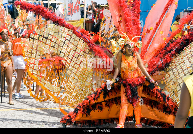 Toronto am 2. August Caribana Festival parade 2008-Kanada Stockbild