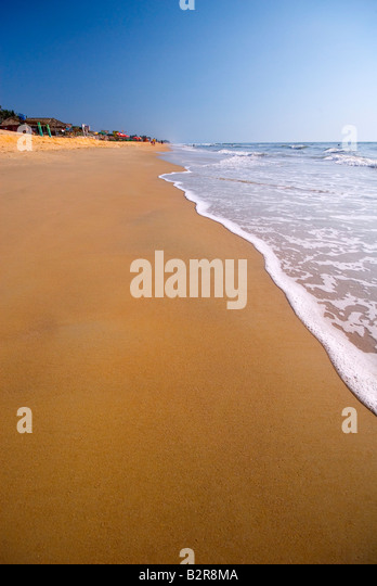 Benaulim Beach, Goa, Indien, Subkontinent, Asien Stockbild