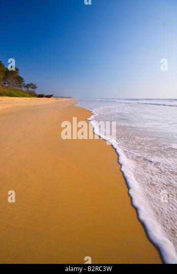 Varca Beach, Goa, Indien, Subkontinent, Asien Stockbild