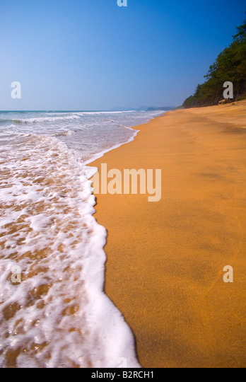 Canacona Beach, Goa, Indien, Subkontinent, Asien Stockbild