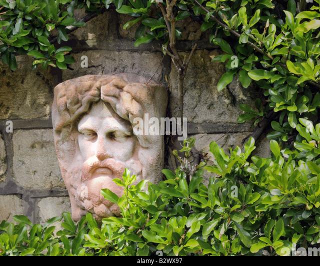 GB - GLOUCESTERSHIRE: Garten eingehend Parkgate, Cheltenham Stockbild