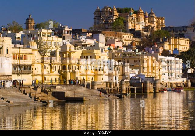 Udaipur, Rajasthan, Indien, Subkontinent, Asien Stockbild