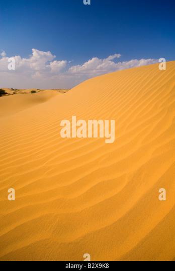 Sam Sanddünen, große Wüste Thar, Rajasthan, Indien, Subkontinent, Asien Stockbild