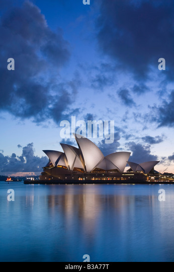 Australien, New South Wales, Sydney, Sydney Opera House Stockbild