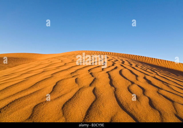 Afrika, Namibia, Namib-Wüste, Sand-Dünen Stockbild