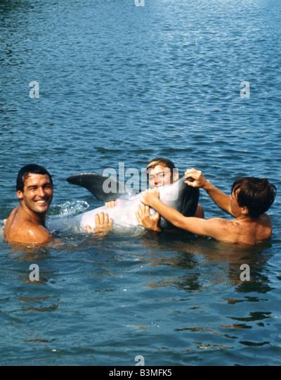 FLIPPER 1963 film Stockbild