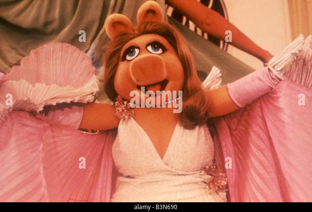DER MUPPET Film 1979 ITC film mit Miss Piggy Stockbild
