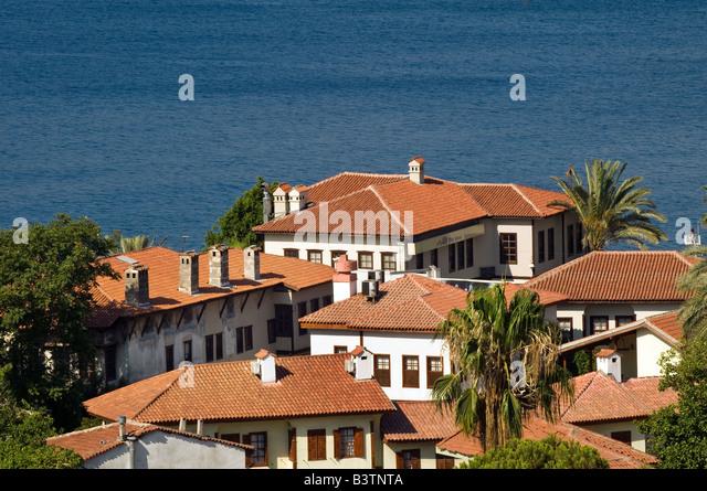 old turkish house antalya stockfotos old turkish house antalya bilder alamy. Black Bedroom Furniture Sets. Home Design Ideas