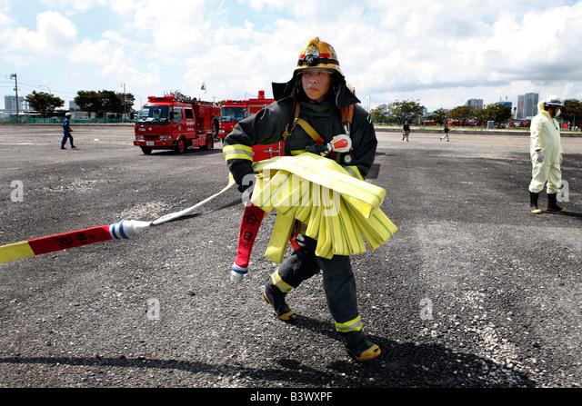 Fire Fighter Stockbild