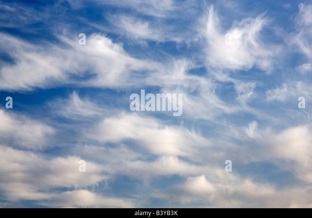 Wolkenmuster. Stockbild